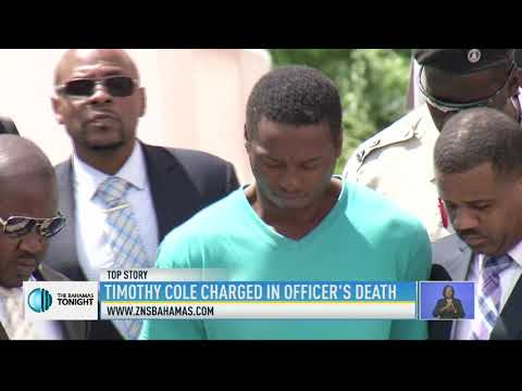 TIMOTHY COLE CHARGED IN OFFICERS DEATH