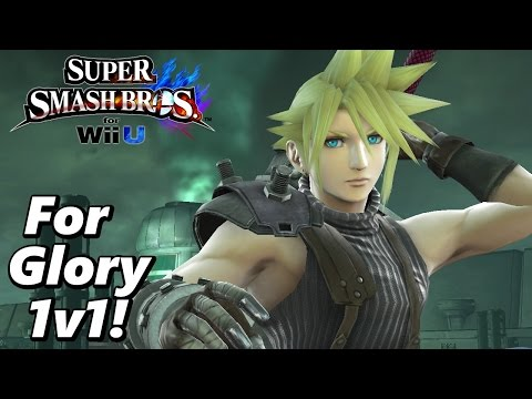 Super Smash Bros Wii U: For Glory 1v1 Matches (With Cloud) #16