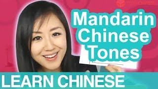 Beginner Conversational Chinese Lesson 2 - Mandarin Chinese Tones