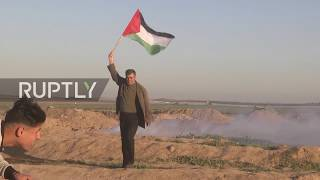 State of Palestine: At least 46 injured in Gaza 'March of Return' protest