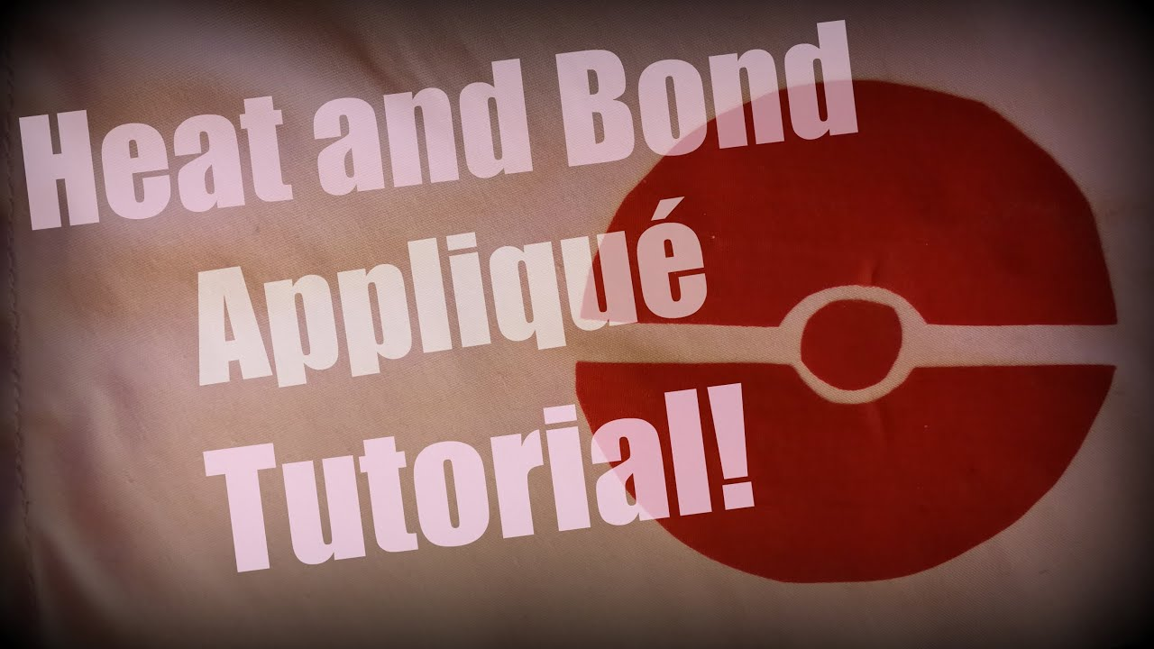 Heat And Bond Applique Tutorial Youtube