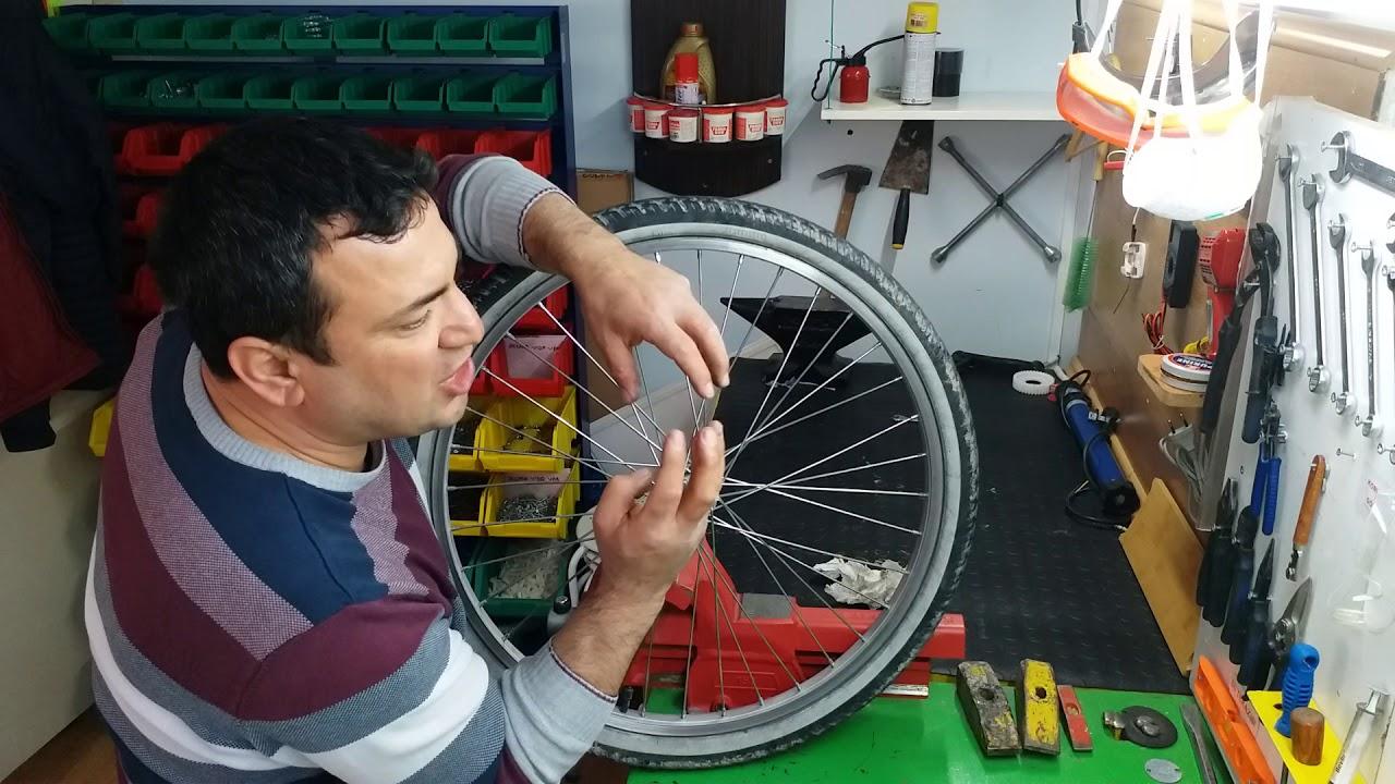 Bisiklet Arka Göbek Bilye ve Kaset Değişimi