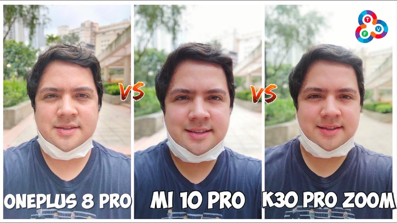 OnePlus 8 Pro vs Mi 10 Pro vs Redmi K30 Pro Zoom - Camera Shootout!