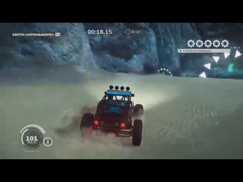 Just Cause 3 - Seaside Sprint 5 Gears - Land Race