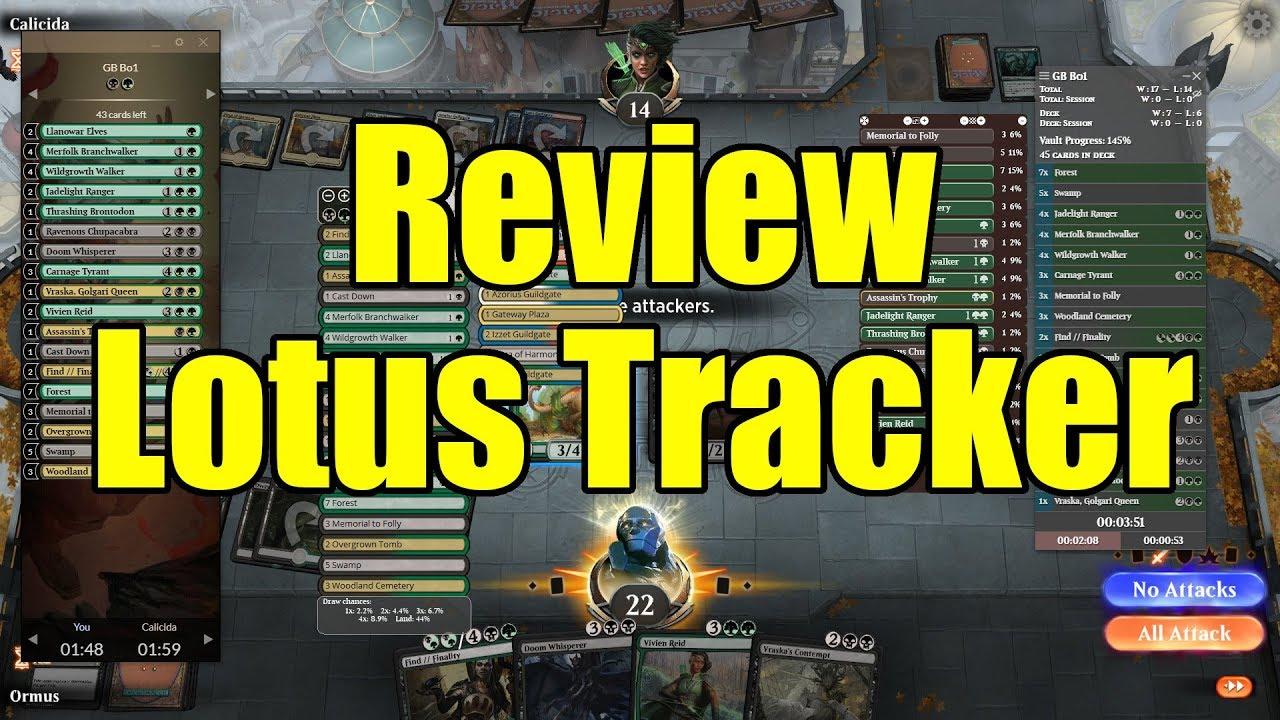 MTG Arena | Tools | Review Lotus Tracker | Magic: The Gathering