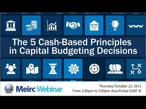 The 5 cash based principles | Accounting and Finance | Dubai | Meirc