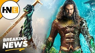 New Aquaman Trailer Teased for Tomorrow & Poster Revealed