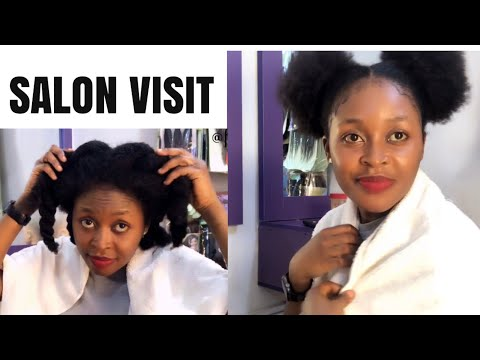 😳 I Went to The Cheapest Hair Salon in Nigeria