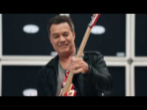 Eddie Van Halen is Musician's Friend December Catalog Cover Artist