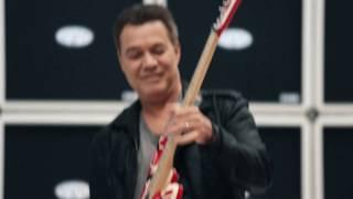 Eddie Van Halen is Musician's Friend December Catalog Cover Artist