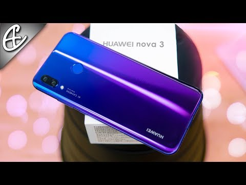 Huawei Nova 3 Unboxing & Hands On Overview - Beautiful & Powerful w/ Quad Cameras!