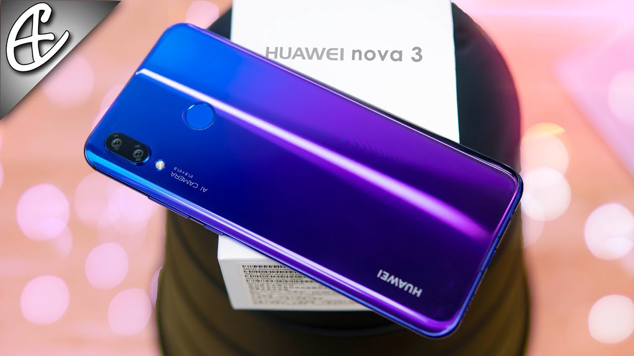wholesale dealer ed42b f8c49 Huawei Nova 3 Unboxing & Hands On Overview - Beautiful & Powerful w/ Quad  Cameras!