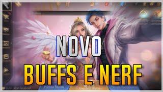 NOVOS BUFF E NERF - Arena of Valor