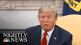 Exclusive: Donald Trump Wanted To Make Nuclear Stockpile Nearly 10 Times Larger | NBC Nightly News