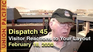 Dispatch 45 - How Do Visitors React to Your Layout? - February 18, 2020