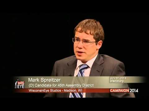 Mark Spreitzer Mark Spreitzer D for 45th Assembly District YouTube