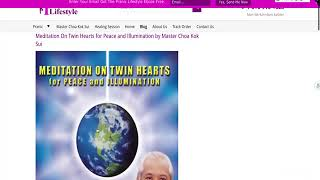 Baixar Meditation On Twin Hearts for Peace and Illumination by Master Choa Kok Sui (CDs)