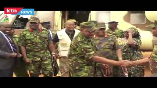 Rare video shows President Uhuru Kenyatta in the wilderness, used by KDF for training.