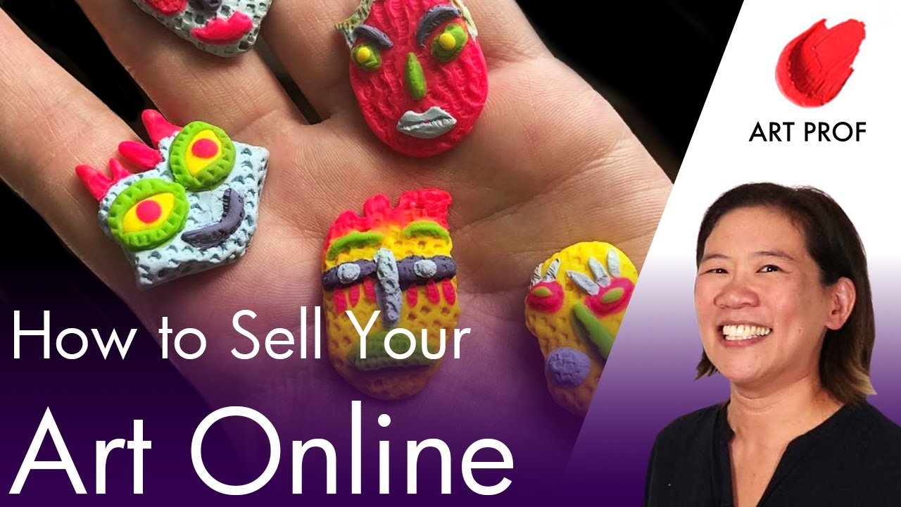 how to sell my art online for free