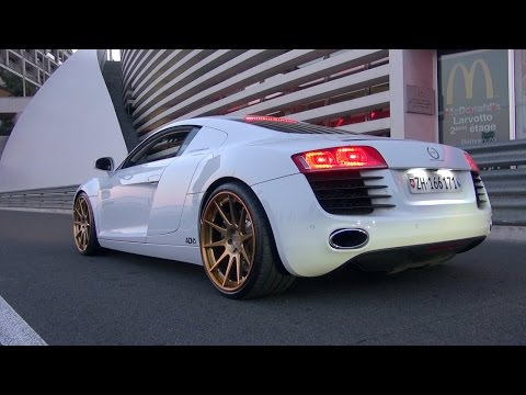 Audi R8 Le Mans Edition w/ ADV1 Wheels! INSANE REVS!!