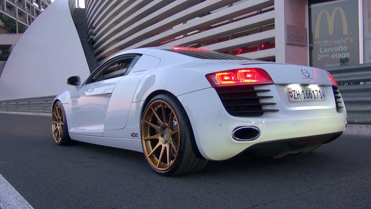 Audi R8 Le Mans >> Audi R8 Le Mans Edition w/ ADV1 Wheels! INSANE REVS!! - YouTube