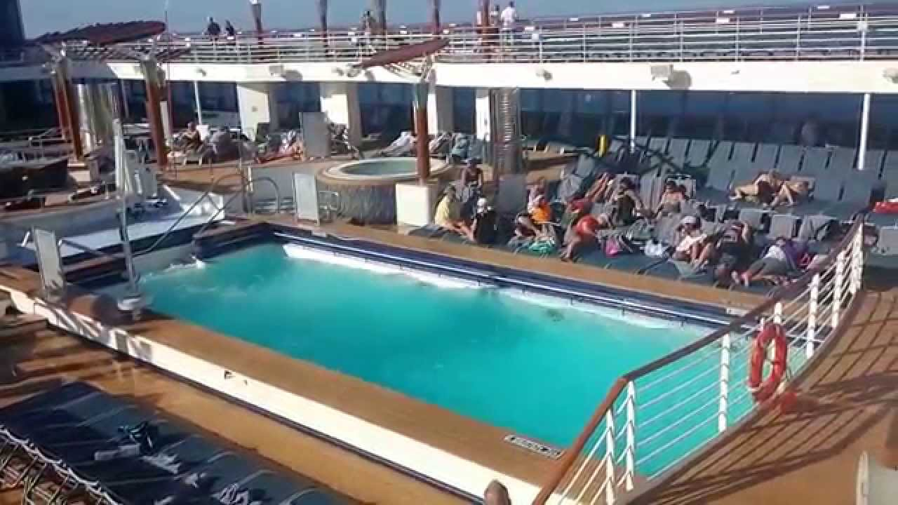 Celebrity Summit Swimming Pool - YouTube