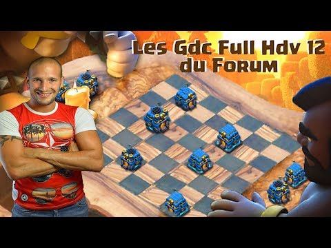 🔴 Guerre FULL HDV 12 | 50 vs 50 | Clash of clans France