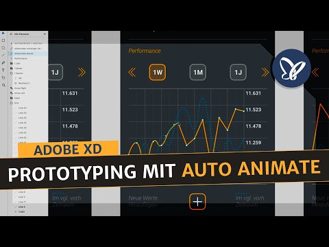 Adobe XD Tutorial –Interaktives Prototyping mit Auto Animate (bewegender Chart) thumbnail