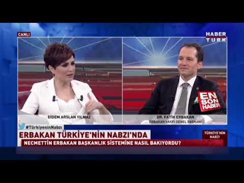 Fatih Erbakan ve başkanlık sistemi