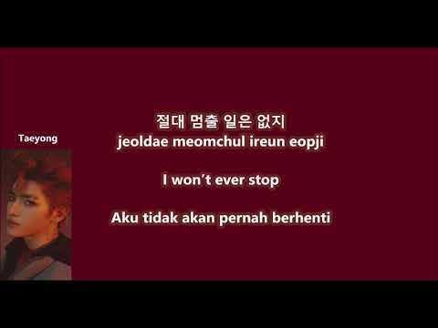 NCT U - Baby Don't Stop with Malay | Eng | Han | Rom lyrics