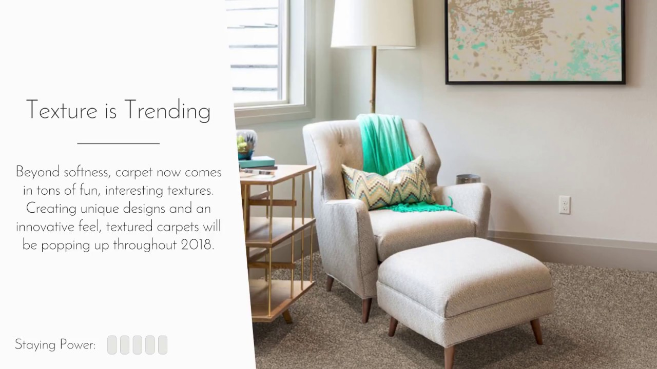 2018 Carpet Flooring Trends - YouTube