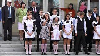 Жердевка - Школа  День знаний.