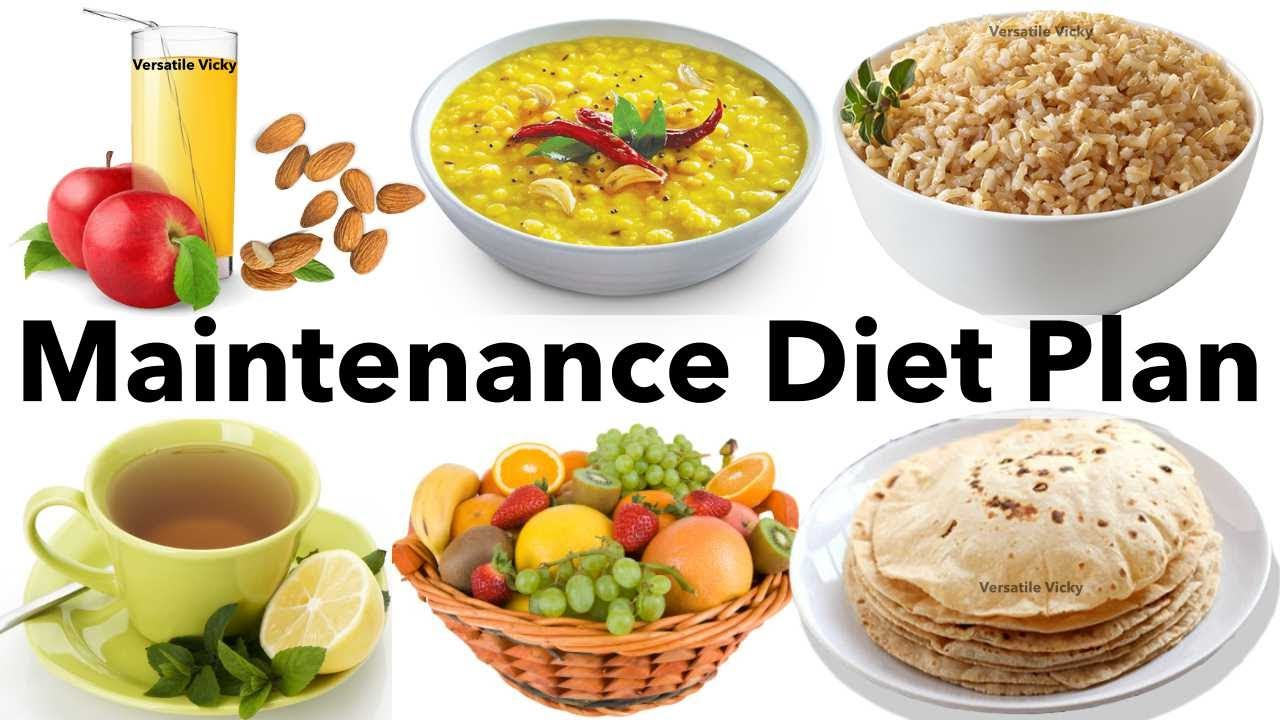 Maintenance Diet Plan - India | Indian Diet/Meal Plan For Weight Loss To Lose 10Kg In 15 Days - YouTube