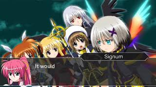 Nanoha A's PORTABLE-THE GEARS OF DESTINY- (Eng patch): Sequence 10 – Stars & Lightning