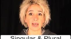 """Deutsche Grammatik: """"Singular/Plural"""" (mit Sonja Hubmann)"""