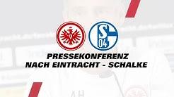 """""""Bin zufrieden mit der Leistung"""" I Pressekonferenz nach Eintracht Frankfurt - Schalke 04"""