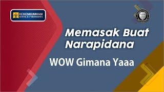 Kakanwil Kemenkumham D.I. Yogyakarta Memasak Untuk Warga Binaan