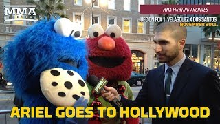 MMA Fighting Archives: Ariel Helwani Goes to Hollywood - MMA Fighting