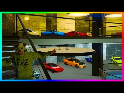 OVER $100,000,000 OF NEW GTA ONLINE VEHICLES & GTA 5 DLC CARS - ULTIMATE 60 CAR OFFICE GARAGE TOUR!