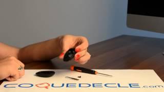 Télécommande coque de clé plip 3 boutons Renault Clio, Twingo, Kangoo, Modus