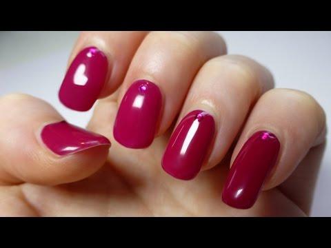 sexy berry nail art