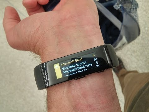 Microsoft Band and Surface Pro 3 on Surface Geeks 78