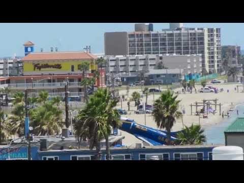 Corpus Christi - 360° View From Atop The Texas State Aquarium - HD