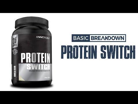 Switch Nutrition Plant Protein Powder Vegan Supplement Review | Basic Breakdown