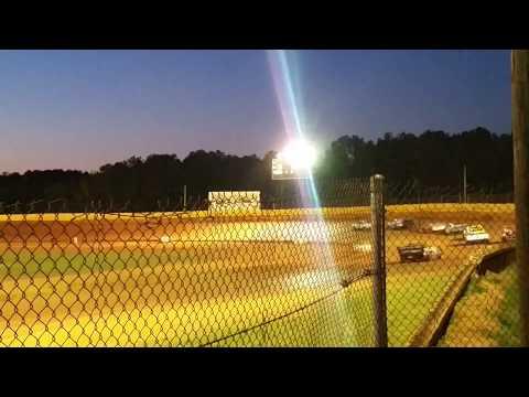 Modoc Speedway SS4 Heat Race 3-28-15