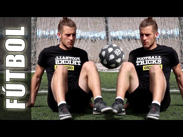 Dominadas o Toques Sentado de Football Freestyle Sitdown Juggling tutorial de Fútbol