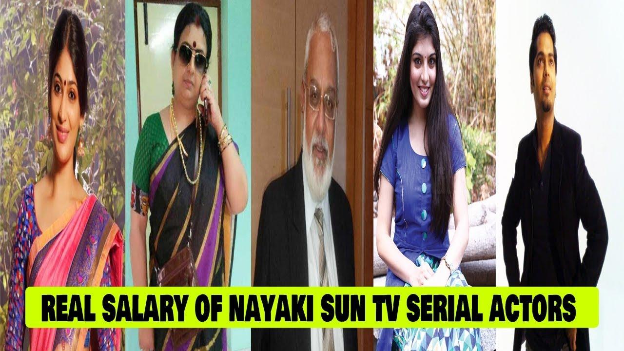 Real Salary of Nayaki Sun Tv Serial Actors