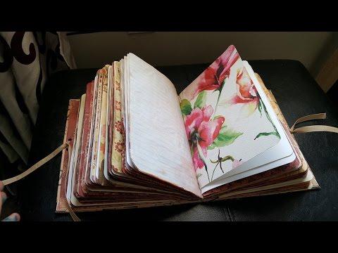 Super Chunky Handmade Junk Journal & Travel Journal ((*SOLD))