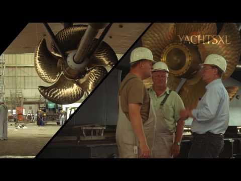Launch Quantum Blue | Lürssen i.o.v. YachtsXL | Productfilm