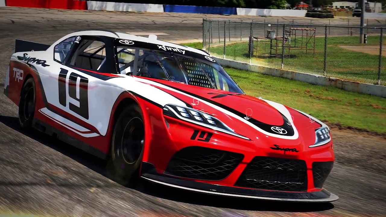 toyota supra to make xfinity debut in 2019 youtube. Black Bedroom Furniture Sets. Home Design Ideas